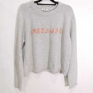 Madewell Dreamer K5441 Sweater sizw XXL New